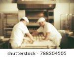 blurred bakery shop in...   Shutterstock . vector #788304505