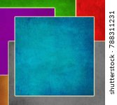 colorful background image with... | Shutterstock . vector #788311231
