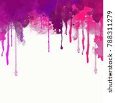 abstract watercolor background. ... | Shutterstock . vector #788311279