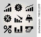 technology vector icon set.... | Shutterstock .eps vector #788311399