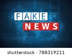 fake news and misinformation... | Shutterstock . vector #788319211