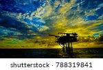 wellhead remote platform ... | Shutterstock . vector #788319841