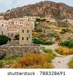 monemvasia is a town and a... | Shutterstock . vector #788328691