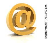 e mail and envelope 3d...   Shutterstock . vector #788342125