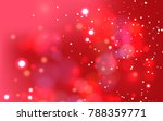 abstract red background glitter ... | Shutterstock .eps vector #788359771