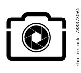 camera shutter icon symbol and... | Shutterstock .eps vector #788378065
