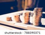personal financial planning... | Shutterstock . vector #788390371