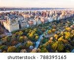 new york panorama shot from... | Shutterstock . vector #788395165