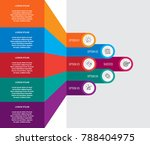 abstract infographics number...   Shutterstock .eps vector #788404975