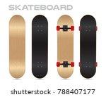 maple wood blank skateboard...