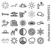 sun icons set of 25 editable