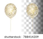 3d realistic white shine... | Shutterstock .eps vector #788414209