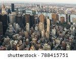 skyline of new york city. urban ... | Shutterstock . vector #788415751