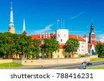 riga castle  latvia | Shutterstock . vector #788416231