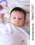 2 months old lovely baby... | Shutterstock . vector #788417257