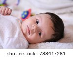 2 months old lovely baby... | Shutterstock . vector #788417281
