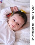 2 months old lovely baby... | Shutterstock . vector #788417284