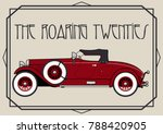 vector retro car from the... | Shutterstock .eps vector #788420905