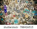 Earrings In A Market