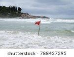 Red Flag At Joaquina Beach  ...