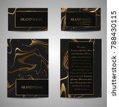 elegant identity kit. abstract...   Shutterstock .eps vector #788430115