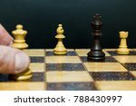 chess photographed on a... | Shutterstock . vector #788430997