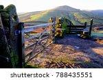 edale  derbyshire  uk. january... | Shutterstock . vector #788435551
