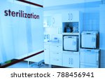 room for sterilizing...   Shutterstock . vector #788456941