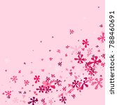 pink blots on a pink background.... | Shutterstock .eps vector #788460691