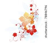 floral illustration   Shutterstock . vector #78846796