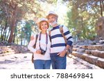 travel and tourism. senior... | Shutterstock . vector #788469841