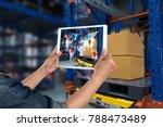 industrial 4.0   augmented... | Shutterstock . vector #788473489
