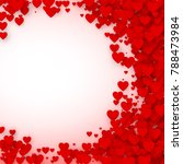 valentines day card cover...   Shutterstock .eps vector #788473984