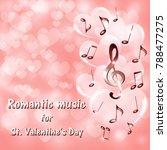 musical background for... | Shutterstock .eps vector #788477275