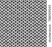 basket weave seamless pattern... | Shutterstock .eps vector #788509045