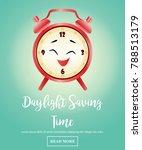 background for daylight saving...   Shutterstock . vector #788513179