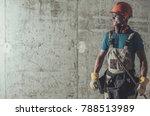 contractor job concept.... | Shutterstock . vector #788513989