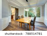light and spacious dining room... | Shutterstock . vector #788514781