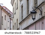 old building walls and... | Shutterstock . vector #788523967