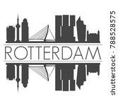 rotterdam holland netherlands... | Shutterstock .eps vector #788528575