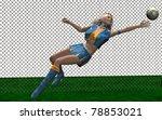 goal girl | Shutterstock . vector #78853021