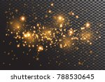 transparent glow light effect... | Shutterstock .eps vector #788530645