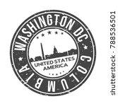 washington dc columbia usa... | Shutterstock .eps vector #788536501