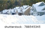 modern houses in a row in... | Shutterstock . vector #788545345