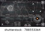 hud ui background outer space....