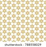 decorative geometric flower...   Shutterstock .eps vector #788558029