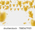 celebration party banner with... | Shutterstock .eps vector #788567935
