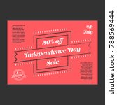 independence day banner | Shutterstock .eps vector #788569444