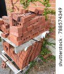 a messy pile of bricks | Shutterstock . vector #788574349