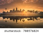 sunrise view of popular tourist ... | Shutterstock . vector #788576824